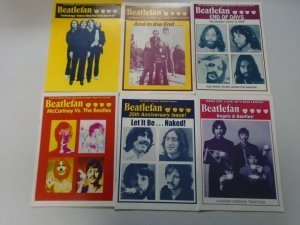 Beatlefan Magazine lot of 11 different later issues