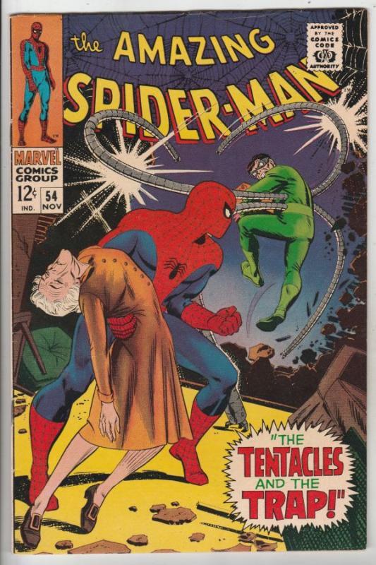 Amazing Spider-Man #54 (Nov-67) NM- High-Grade Spider-Man, Aunt May