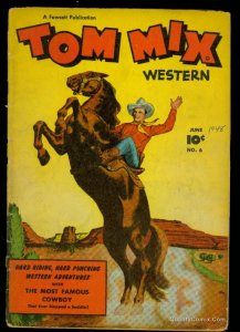 Tom Mix Western #6 GD- 1.8