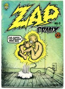 ZAP #0, VG, Robert Crumb, Underground, 1967, 2nd, more UG in store