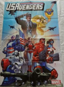U.S. AVENGERS Promo Poster, 24 x 36, 2016, MARVEL,  Unused more in our store 170