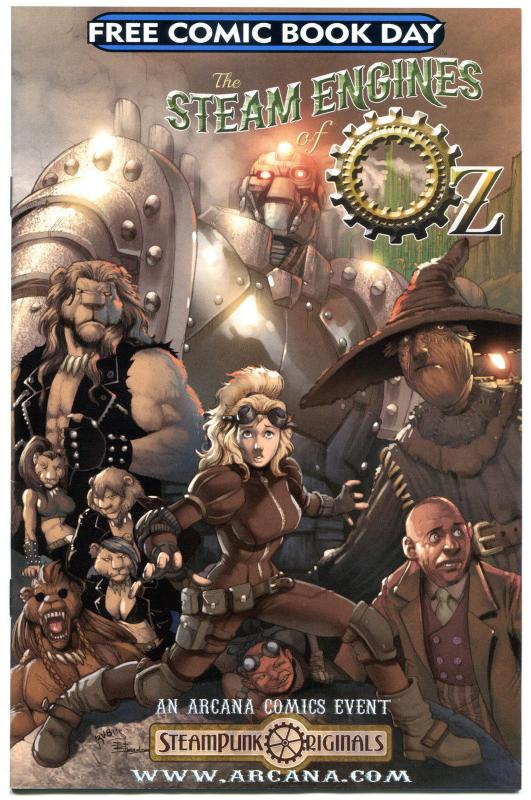 STEAM ENGINES of OZ #1, NM, Flying Monkeys, FCBD, 2013, more OZ items in store
