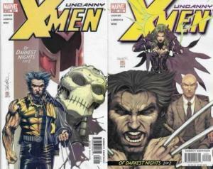 X MEN 442-443 Of Darkest Nights