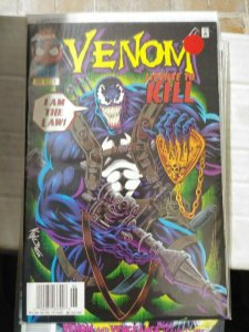 VENOM- LICENSE TO KILL   #1   1997 marvel  MINI SERIES +