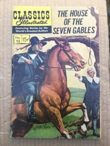 Classics Illustrated The House Of The Seven Hables #52