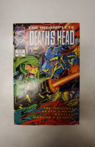 The Incomplete Death's Head (UK) #3 (1993) NM Marvel Comic Book J720