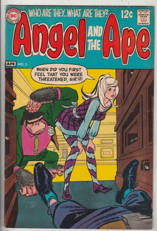 Angel And the Ape #3 (Apr-69) VF/NM- High-Grade Angel and Ape