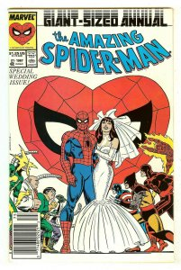 Amazing Spiderman Annual 21   Wedding Issue   Peter Parker marries Mary Jane
