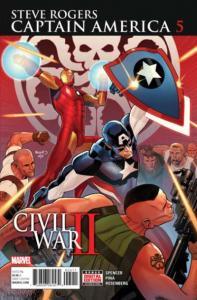 Captain America: Steve Rogers #5, NM + (Stock photo)