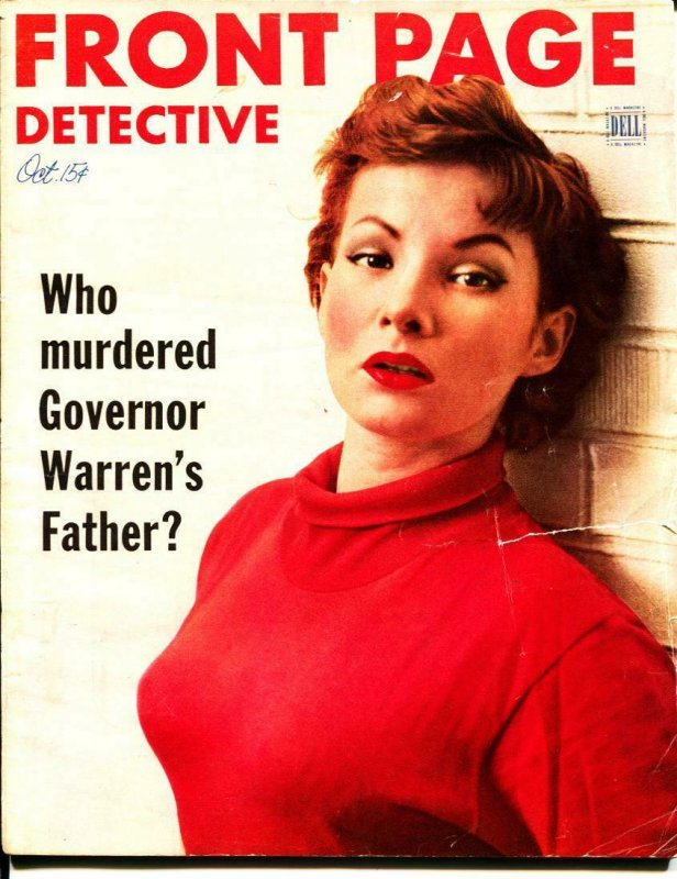 Front Page Detective-10/1952-Murder-Killer-Execution-VG
