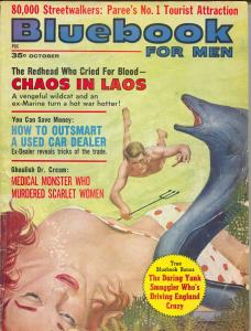 Bluebook For Men 10/1962-HS Pubs-Bill Wenzell-Jekyll-Hyde type murder-G/VG