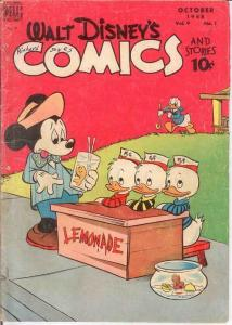 WALT DISNEYS COMICS & STORIES 97 GOOD BARKS Oct. 1948 COMICS BOOK