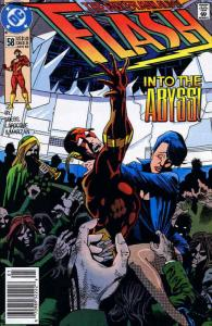 Flash (2nd Series) #58 VF/NM; DC | save on shipping - details inside