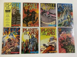 Planet of the Apes lot #1-13 Adventure 8 different books 6.0 FN (1990 to 1991)