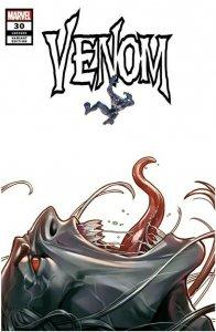 Venom #30 Woo Chul Lee  TRADE DRESS Venom 3 Homage Knull PREORDER | crain 3