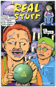 REAL STUFF #19, VF/NM, Renee French, Crabb, Williams, Shaw, Tuttle, Smyth, 1990