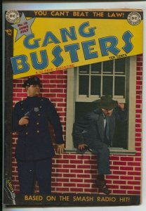 Gang Busters #10 1949-DC-Photo cover-Pre-code crime-Plain clothes squad in ac...
