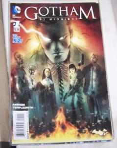 Gotham by Midnight #1 (January 2015, DC) FAWKES TEMPLESMITH HORROR