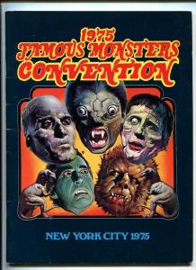 Famous Monsters Convention Program NYC 1975-- signed by Ackerman -Barbara Leigh