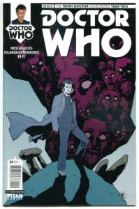 DOCTOR WHO #9 A, NM, 10th, Tardis, 2015, Titan, 1st, more DW in store, Sci-fi