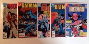 Batman 401 402 403 408 410 9.2 Or Better Lot Set Run