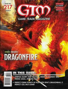 GTM Game Trade Magazine #217 with Promo Card (2018) - New!