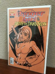 DANGER GIRL / ARMY OF DARKNESS #2, VF/NM, Variant, 2011, more AOD in store