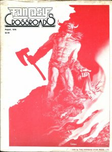 Fantasy Crossroads #9 1976-Richard CorbenGene Day-Robert E Howard-VG