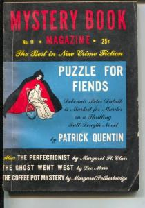 Mystery Book magazine 5/1946-hardboiled crime pulp fiction-P Quentin-VG