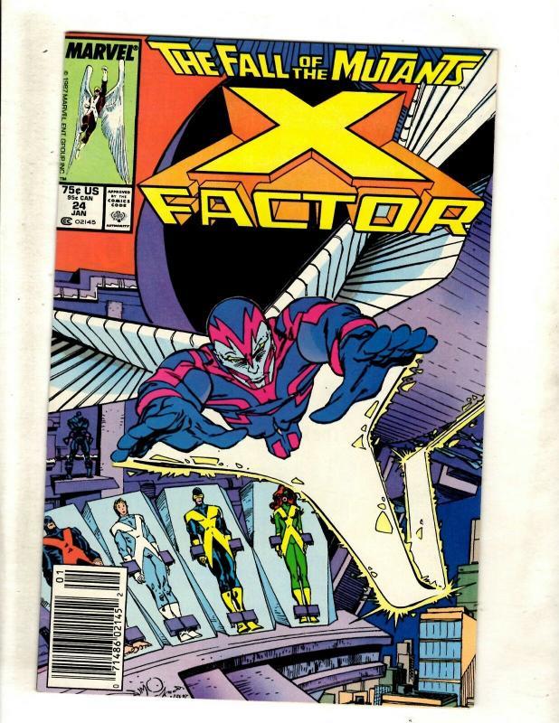 X-Factor # 24 VF/NM Marvel Comic Book 1st Archangel Appearance X-Men Key WS9