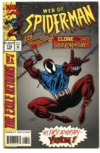 Web Of Spider-man #118 Marvel-First solo clone Issue VF+