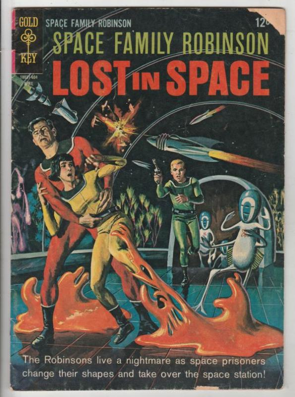Space Family Robinson, Lost in Space #16 (Apr-66) VG+ Affordable-Grade Will R...