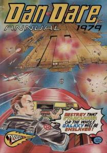 DAN DARE 1979 BRITISH ANNUAL KENNEDY O'NEILL VF