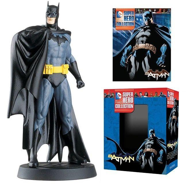 DC Superhero Collection #1 Batman Figure w/Booklet (Eaglemoss, 2015) New!