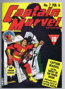 Flashback #35 VINTAGE 1976 Dynapubs Reprints Captain Marvel Adventures #7
