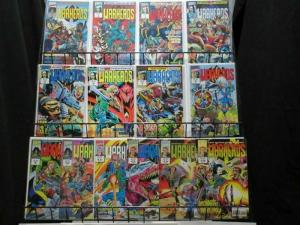 WARHEADS (1992 MUK) 1-14  Wolverine, Surfer, X Men
