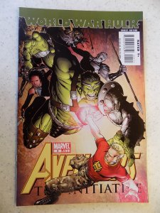 WORLD WAR HULK AVENGERS INITIATIVE # 4