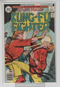 RICHARD DRAGON KUNG FU FIGHTER (1975 DC) #12 VF+ A05060