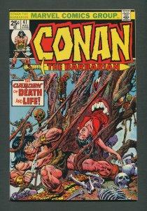 Conan The Barbarian #41 /  8.5 VFN+  /  September 1974