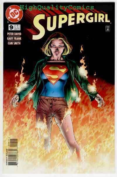 SUPERGIRL #9, NM, Good Girl, Peter David, Burning,1996, more in store