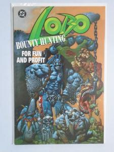Lobo Bounty Hunting for Fun and Profit (1995) #1 - 8.0 VF - 1995