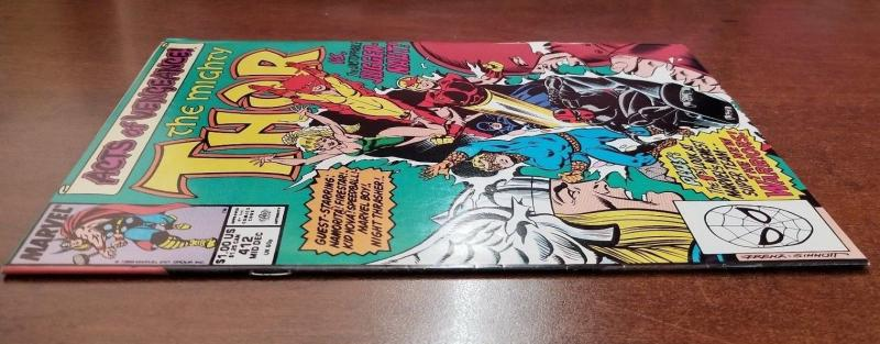 Thor (1st Series Journey Into Mystery) #412 1989
