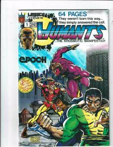 2 Humants/Guardians of Justice & the O-Force Legacy Comic Books #1(2) KS10