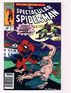 Spectcular Spider-Man #182 Marvel Comic Book Vermin Goblin Child Within HH1