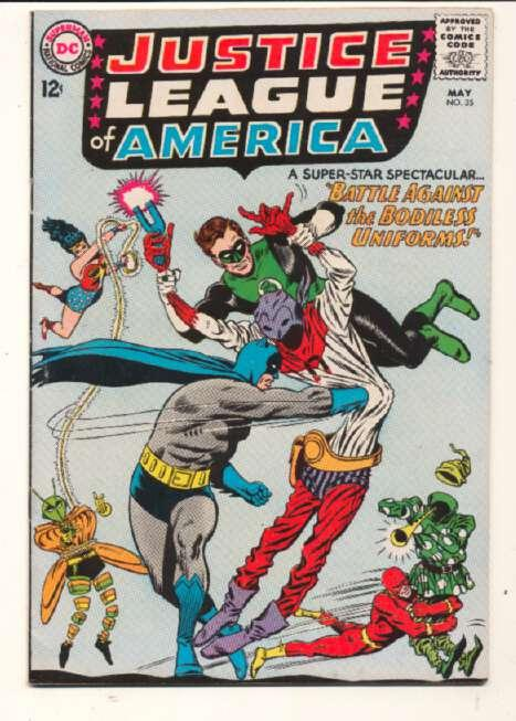 Justice League of America (1960 series) #35, Fine- (Actual scan)