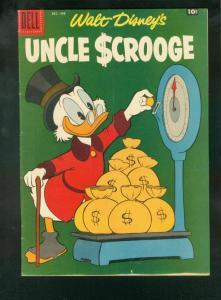 UNCLE SCROOGE #20 1958-DELL COMICS-DISNEY-BARKS VG