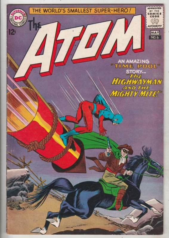 Atom, The #6 (May-63) VF/NM High-Grade The Atom
