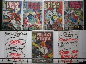 ALPHA FLIGHT (1983-1990) 71-75 War on alternate earth
