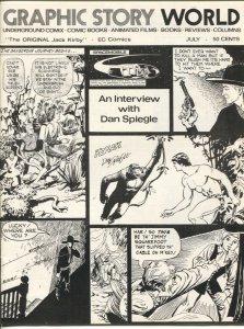 Graphic Story World #6 1972-Dan Spiegle-Clay Geerdes-Shel Dorf-VF