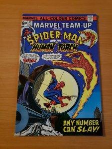 Marvel Team-Up #39 UK Variant ~ VERY FINE - NEAR MINT NM ~ 1975 Marvel Comics